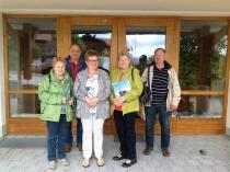 Gästeehrung am 07.06.2017, 10. Aufenthalt von Baier Margarete und Georg und Geier Gabriele und Georg im Haus Friedl Wilhelm und Hedwig.
