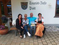 Gästeehrung am 04.07.2018, 10. Aufenthalt von Gisela und Hans Reuter bei Dopfer Lydia und Gregor und Dopfer Angelika und Erich.