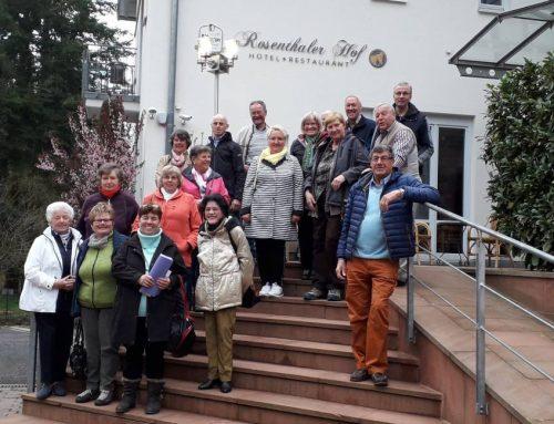 Eisenberger Tage in der Pfalz, die Eisenberger aus dem Allgäu begeisterte