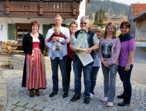 Gästeehrung am 19.3.2015, 10. Aufenthalt von Loock Monika und Rudi, 30. Aufenthalt von Klingelhöfer Manfred bei Famillie Wagner
