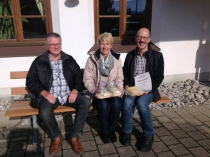 Gästeehrung am 22.2.2017, 20. Aufenthalt von Anke und Jürgen Ahlig im Haus Christine.