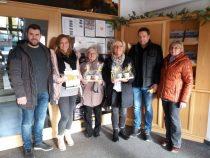 Gästeehrung am 28.12.2018, 20. Aufenthalt von Anke, Fritz und Kim Höger bei Kössel Martin und Vroni