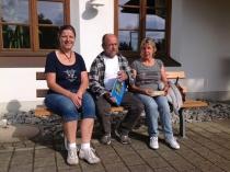 Gästeehrung am 23.9.2016, 10. Aufenthalt von Annemarie und Rudolf Zahn bei Dopfer Marianne.