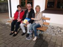 Gästeehrung am 6.10.2016. 10. Aufenthalt von Korte Karin und Mario bei Nigg Rosi.