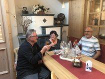 Gästeehrung am 04.07.2019, 20. Aufenthalt vom Olga-Irene und Alfred Albert im Haus Christine.
