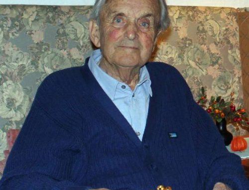 Der ehemalige Grafiker-und Allroundkünstler Siegfried Kössel
