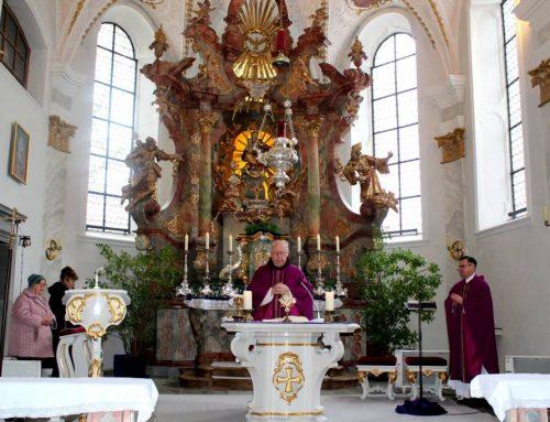 Die Gottesmutter im Mittelpunkt beim 1. Fastengottesdienst