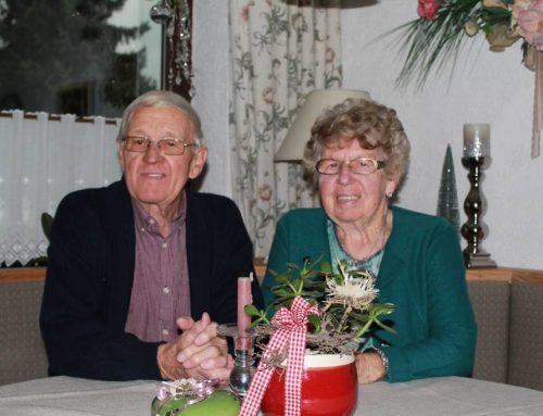 Berta und Adolf Schweinberg feierten Diamantene Hochzeit