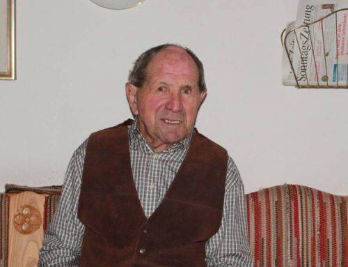 Käsermeister Josef Berkmiller feierte seinen 90. Geburtstag