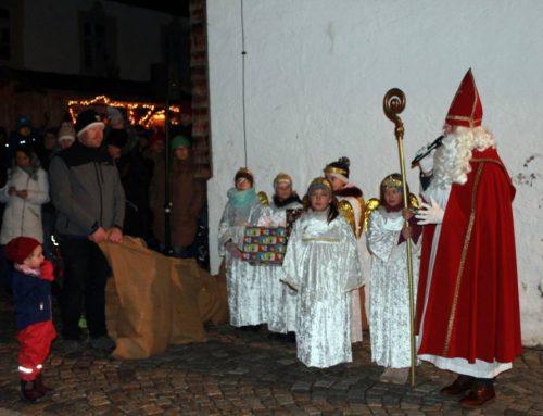 Großartige Nikolausfeier in Speiden und Seniorennachmittag