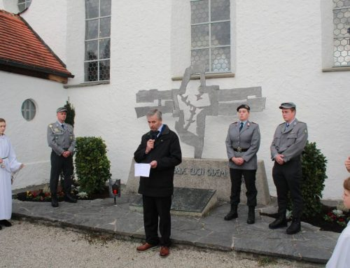 Heldengedenktag in Eisenberg und Jahresversammlung