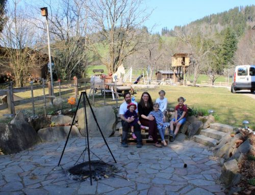 Ostern 2020 bei Familie Splitgerber in Eisenberg mit Corona-Beschränkungen