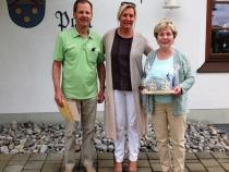 Gästeehrung am 27.6.2016, 20. Aufenthalt vonTonn Dietmar und Eva, 4 Aufenhalte bei Zweng Christine, 16. Aufenthalte bei Fam. Abt.
