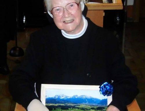 Franziskanerin Sr. M. Brunilde Guggemos verstorben